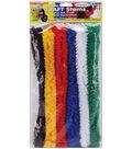 Pepperell Noodle Roonie Jumbo Craft Stems 12\u0022 6/Pkg-Primary