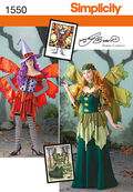 Simplicity Pattern 1550H5 6-8-10-12--Crafts Costumes