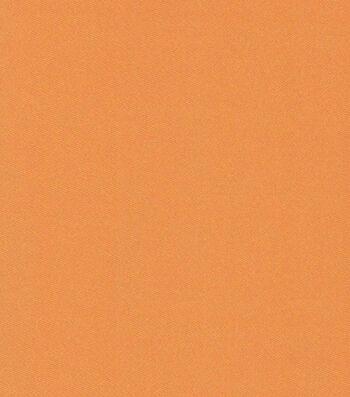 "Glitterbug Satin Fabric 45""-Solid Orange"