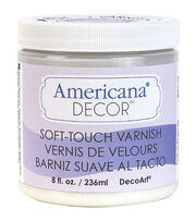 DecoArt Clear - Soft Touch Varnish 8oz, , hi-res