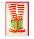 Holiday Cheer $12.99 Deluxe Whimsical Photos-Present  Cards