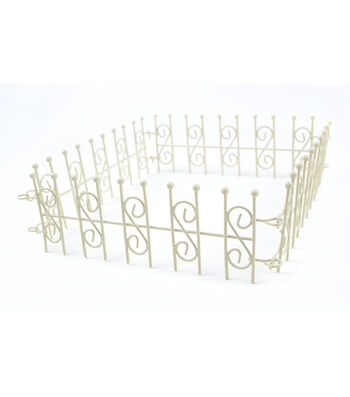 Bloom Room Littles 4-Way Linked Fence-White