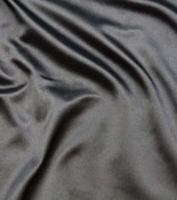"Cosplay by Yaya Han Ribbed Stretch Fabric 59""-Black"
