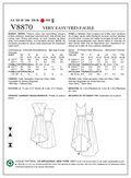 Vogue Patterns Misses Dress-V8870