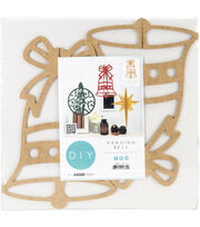 Kaisercraft Beyond The Page MDF 10.5''x7''x7'' Hanging Ornament-Bell, , hi-res