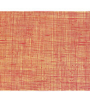 "Alexander Henry Premium Quilt Fabric 45""-Heath Yellow Red, , hi-res"