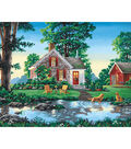 Reeves Paint By Number Kit 20\u0022X16-Summer Cottage