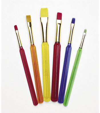 Busy Kids Learning Assorted Kids' Flat Brushes
