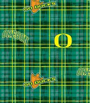"University of Oregon Ducks Cotton Fabric 43""-Plaid, , hi-res"