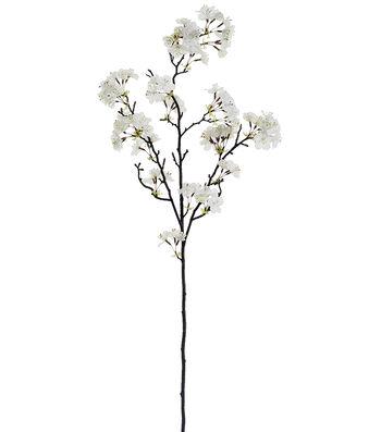 """Bloom Room Pack of 6 35"""" Apple Blossom Sprays-White"""