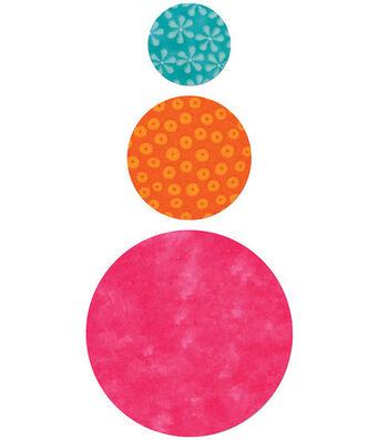 AccuQuilt Go! Fabric Cutting Die Circles