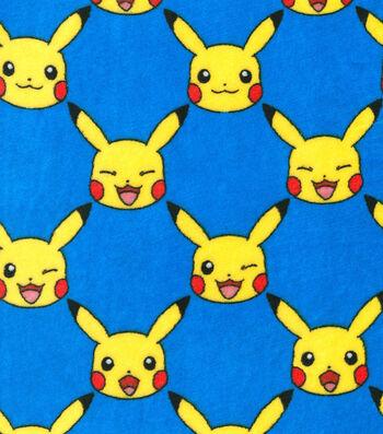 "Pokemon Micro Velvet Fleece 58""-Pikachu"