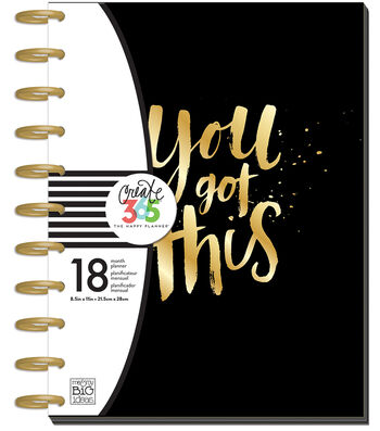 Create 365 Big Planner-Horizontal You Got This