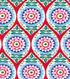 Koko Lee™ Cotton Fabric 43\u0022-Trellis With Small Medallions