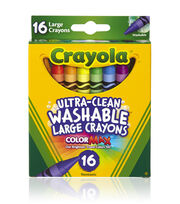 Crayola Growing Kids Large Crayons 16/Pkg Large, , hi-res