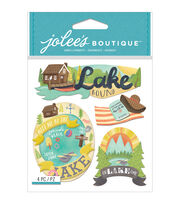 Jolee's Boutique® 4 Pack Dimensional Stickers-Lake, , hi-res