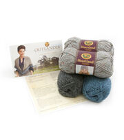 Outlander Garment Crochet Kit-Lavish Mac Kenzie Clan Shawl, , hi-res