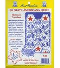 Aunt Martha\u0027s® Transfer Pattern Collections 50 State Americana Quilt