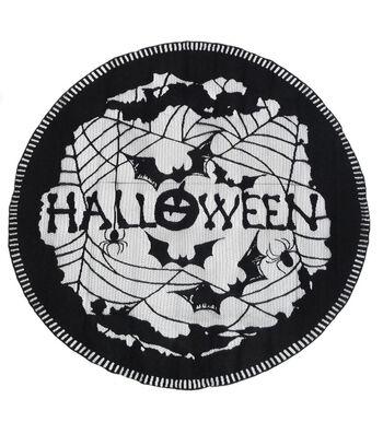 Maker's Halloween 40'' Fabric Centerpiece-Black Halloween