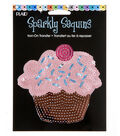 Plaid® Sparkly Sequins Iron On Transfers-Cupcake