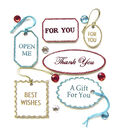 Jolee\u0027s Boutique Parcel Dimensional Embellishments-Vintage Gift Tags