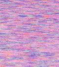 Speciality Luxe Fleece Fabric 58\u0022-Fuschia Space Dye