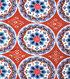Southwest Apparel Fabric-Circles Terra Cotta
