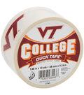 Duck Tape College Logo Virginia Tech