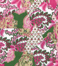 Buttercream™ Olivia Collection Cotton Fabric-Crazy Patch Metallic