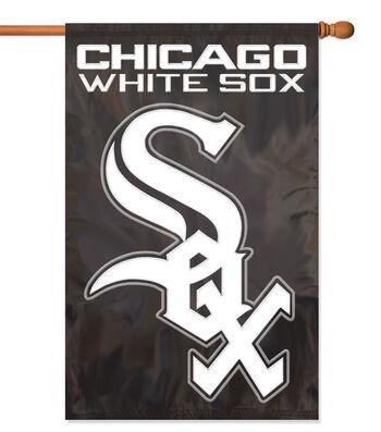 Chicago White Sox Applique Banner Flag