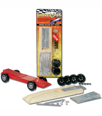 Pinewood Derby Car Racer Kit-Speed