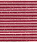 Keepsake Calico™ Holiday Cotton Fabric 43\u0022-Christmas Stripe