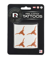 University of Texas Peel & Stick Tattoos, , hi-res