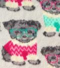 Anti-Pill Fleece Fabric 59\u0022-Yorkshires In Sweaters