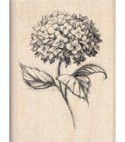 Inkadinkado Rubber Stamp-Hydrangea, , hi-res