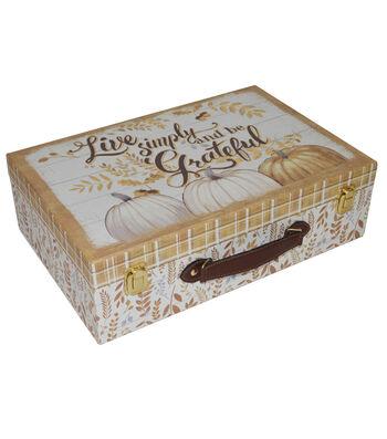 Organizing Essentials™ Medium Luggage Box-Grateful Season