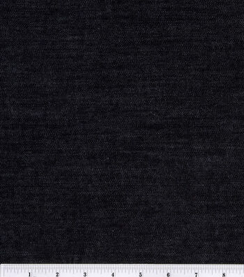 Sew Classic Denim Fabric Black Stretch