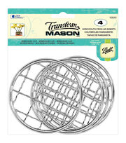 Transform Mason Ball Lid Inserts 4/Pkg-Frog Wide Mouth, , hi-res