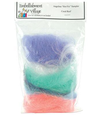 Angelina Fibers Six Assorted Colors-1/2 oz. each