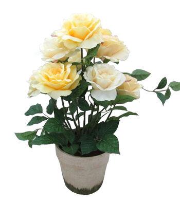 Bloom Room Rose In Pot-Beige