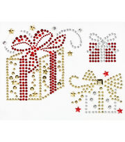 Jolee's Boutique® Holiday Bling Stickers 3pk-Holiday Gifts, , hi-res