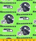 Seattle Seahawks Cotton Fabric 58\u0022-Green