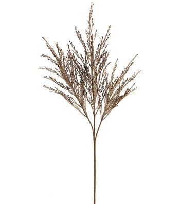 """Bloom Room 21"""" Dried Wild Wheat Spray-Beige"""