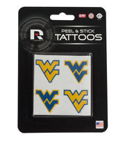West Virginia University Mountaineers Peel & Stick Tattoos, , hi-res