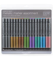Extreme Value Pack 18/Pkg-Metallic Markers, , hi-res