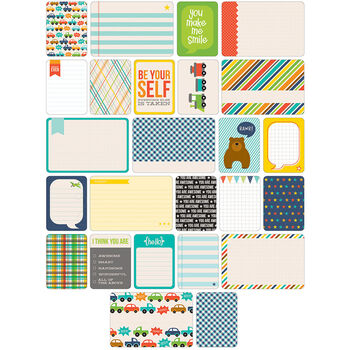 Project Life Themed Cards 60/Pkg-Boy