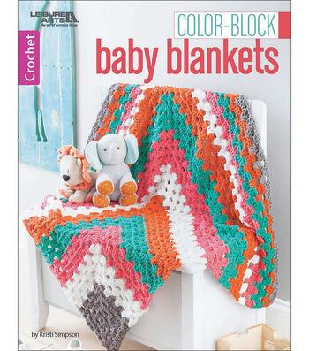 Color-Block Baby Blankets Crochet Book