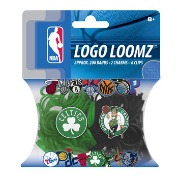 Boston Celtics Logo Loomz Filler Pack by Forever Collectibles