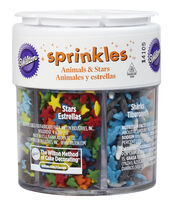 Wilton® 2.4 oz. Sprinkles Set-Assorted Animals & Stars, , hi-res