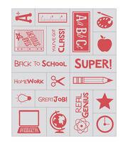 Inkadinkado Mason Jar Foam Teacher Stamp Sheet, , hi-res